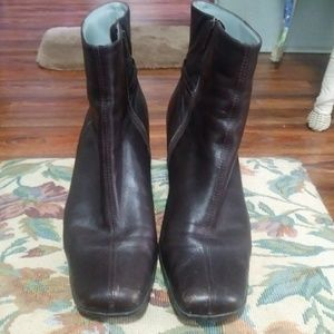 Size 9 Real Leather Ankle Boots